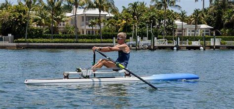Row The Boat Exercise by Rowboard Rum International Sole American Importer Of