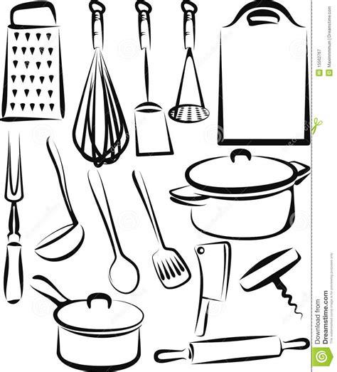 ustensile de cuisine illustration de vecteur illustration du graphisme 15562767