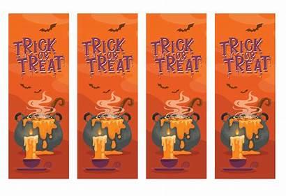 Bookmarks Printable Halloween Printablee