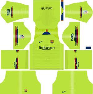 dream league soccer 2018 kits barcelona 2019