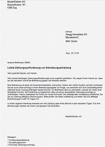 Ab Wann Verjährt Eine Rechnung : eingeschriebener briefvorlage vorlage k 252 ~ Themetempest.com Abrechnung
