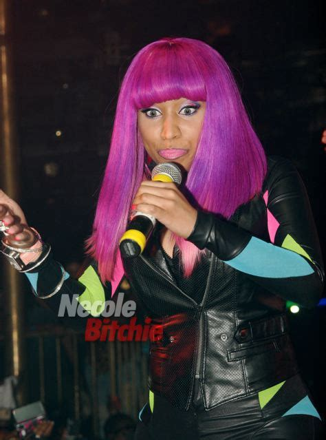 nicki minaj purple  pink wig thirstyrootscom black