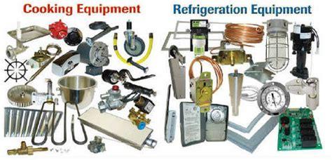 service  spare parts kitchen equipment spare parts