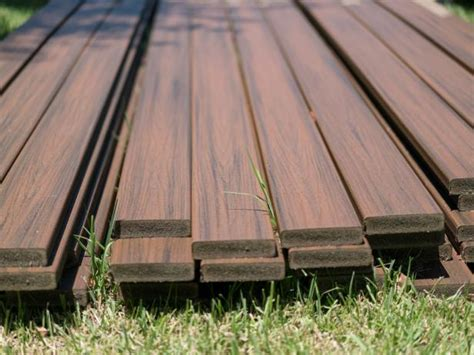 The Different Kinds Of Decking Materials