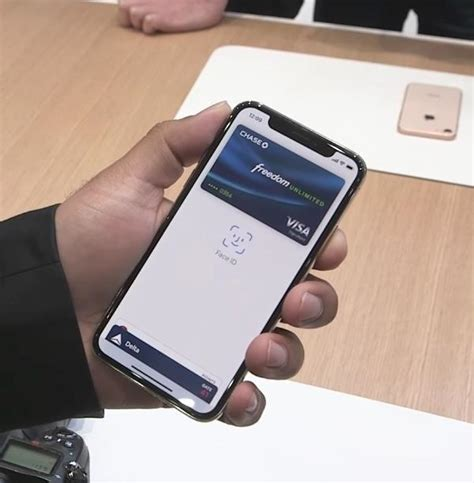 iphone apple pay how to use apple pay with id on the new iphone x