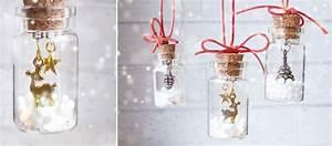 Basteln Mit Glasflaschen : diy weihnachtsbaumanh nger aus kleinen flaschen basteln ~ Watch28wear.com Haus und Dekorationen