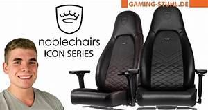 Orthopädischer Bürostuhl Test : noblechairs icon gaming stuhl test kauf gr enberatung ~ Orissabook.com Haus und Dekorationen