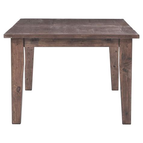 rustic farmhouse dining table abram rustic lodge wood farmhouse adjustable dining table