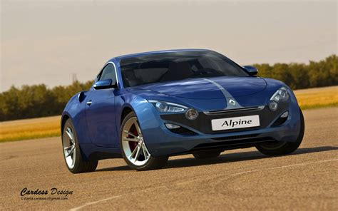 renault alpine design study for a modern day renault alpine sports coupe