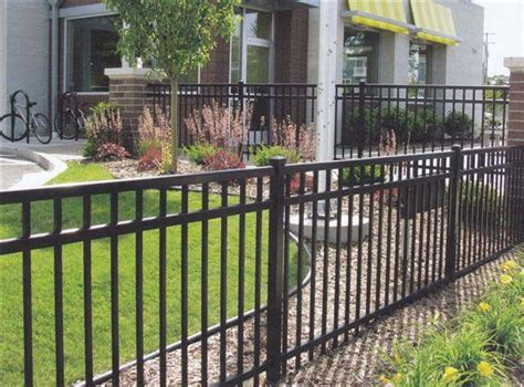 add landscaping  fence    easier  mow  add  pretty plantsflowers