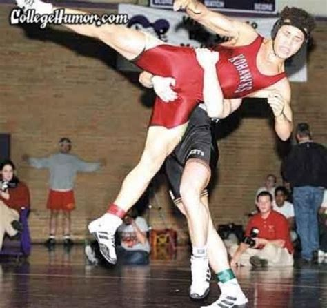 aint  wrestlers caught mid move