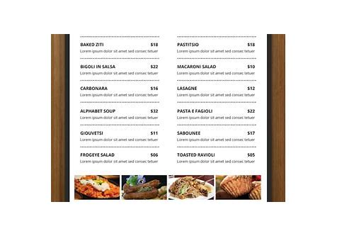 free restaurant flyer templates download