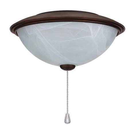 rubbed bronze ceiling fan light kit nutone alabaster glass contemporary bowl ceiling fan light