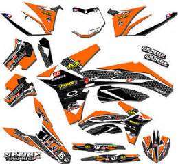kit deco 125 sx 2003 2003 2004 ktm sx 125 200 250 450 525 graphics kit deco decals moto sticker ebay