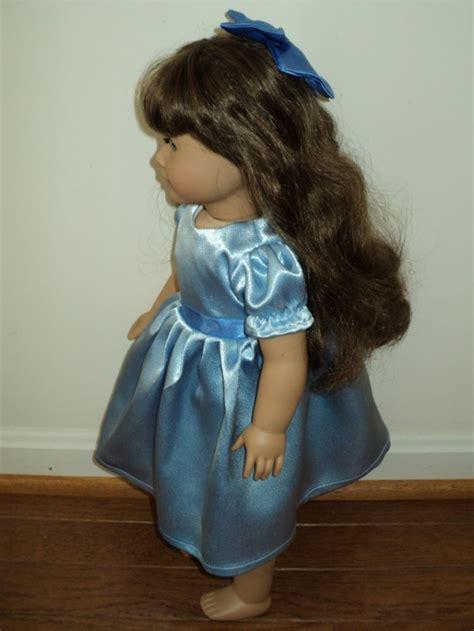 New Handmade Peter Pan Wendy Satin Dress For American Girl