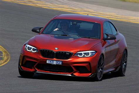 bmw m2 performance 2018 bmw m2 competition feature performance review