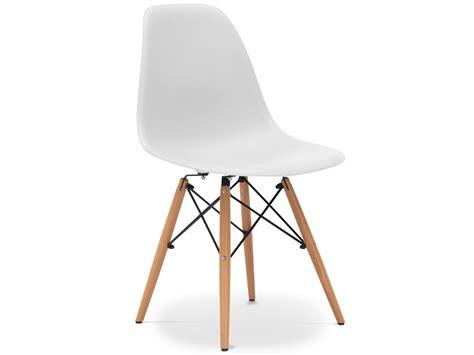 chaise eames blanche chaises design style dsw coloris noir blanc gris neuf