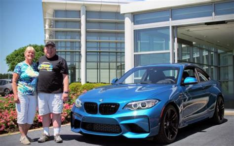 First-ever Bmw Performance Center Delivery Customers Do It