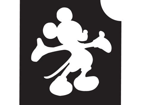 mickey mouse  stencils   clip art