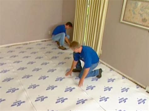 How to Install Underlayment and Laminate Flooring   HGTV