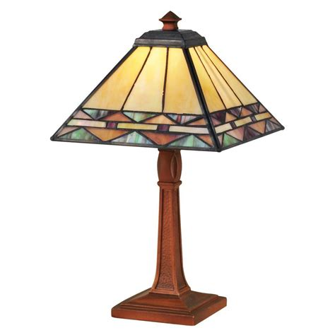 dale tiffany 13 75 in slayter antique bronze accent l