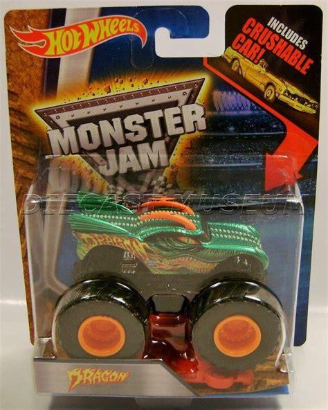 diecast monster jam trucks dragon monster jam truck diecast wheels 2016 ebay