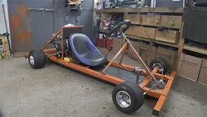 Making a Motorised Go Cart with NO WELDER and simple tools