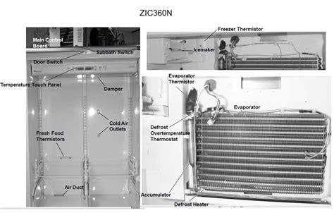 fixed zicsnmrh ge monogram  bottom freezer refrigerator freezer  cold   fridge