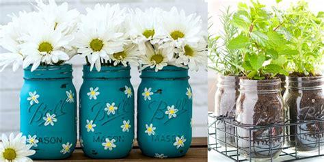 jar crafts 37 fabulous mason jar diys for summer page 5 of 7 diy joy