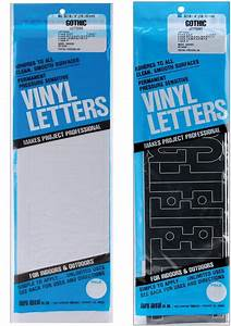 duro decal permanent vinyl letters numbers gothic indoor With duro permanent adhesive vinyl letters