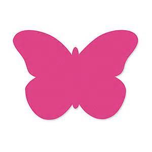 men earring butterfly note cards fuchsia butterfly shape pack