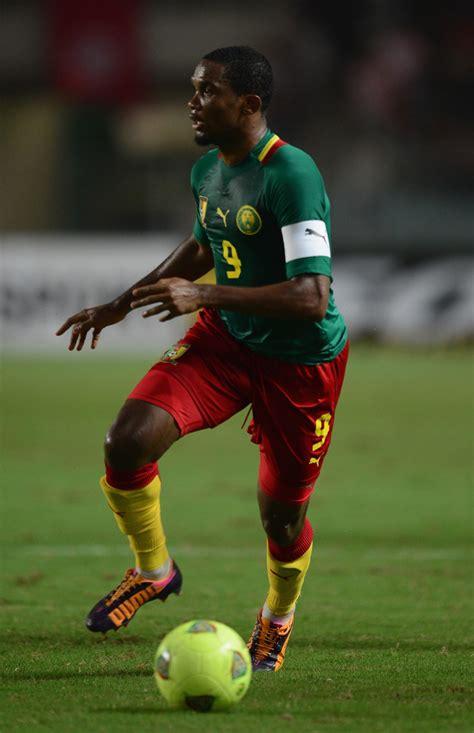 Samuel Eto Photos Tunisia Cameroon Fifa