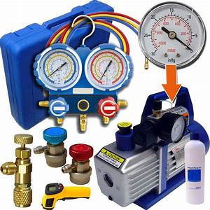 Kit Recharge Clim R134 : kit pompe a vide pour recharge clim auto chez ted outils pour climatisation et frigoristes ~ Gottalentnigeria.com Avis de Voitures