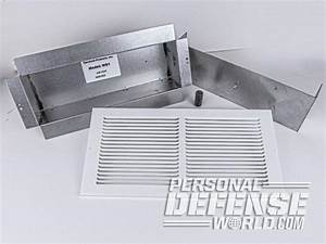 In Plain Sight  Installing An Air Vent Wall Safe