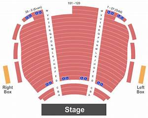 Virginia G Piper Theater Seating Chart Scottsdale