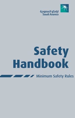 saudi aramco safety handbook  khalid issuu