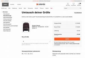 Rechnung Zalando : zalando order exchange neuer zalando retoure pilot ~ Themetempest.com Abrechnung