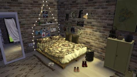 urban boho bedroom  portuguesesimmer sims  updates