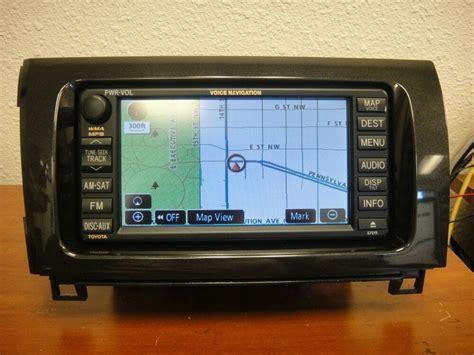 2008-2012 Toyota Tundra Sequoia Oem Gps Navigation System
