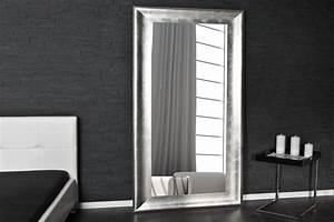 Grand Miroir Design : soldes grand miroir mural design coloris argent comforium ~ Teatrodelosmanantiales.com Idées de Décoration