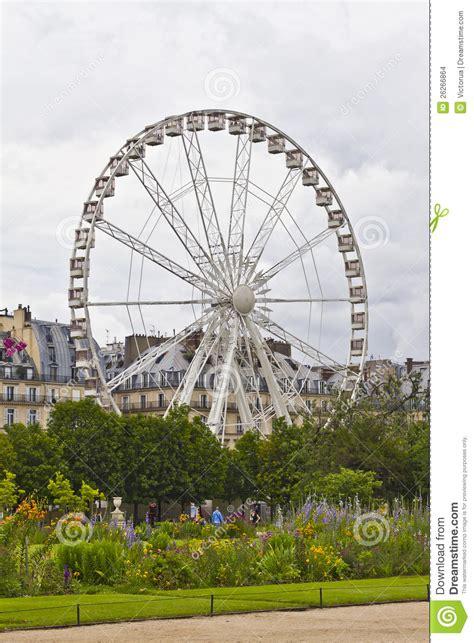 Jardin Des Tuileries Ferris Wheel by Ferris Wheel In Tuileries Garden Stock Images Image