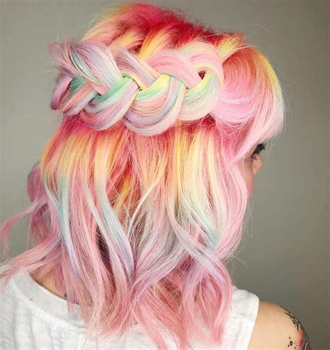 Totosingman Pelo Multicolor Hair Pinterest Pastel