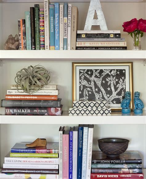 decorating a bookcase its overflowing