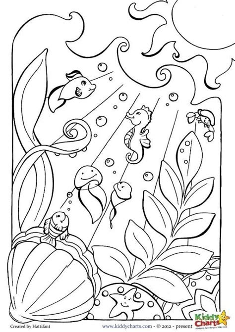 Coloring The Sea by 20 Free Printable Coloring Pages Everfreecoloring