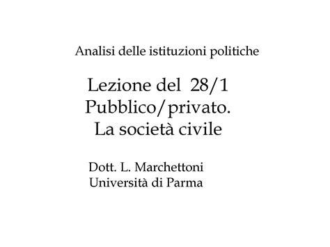 diritto pubblico dispense forme di stato dispensa di istituzioni politiche