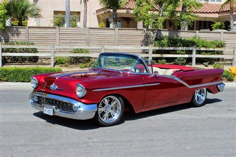 Ca Cars by California With The 1957 Oldsmobile 98 Convertible