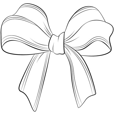 hair bow coloring pages getcoloringpagescom