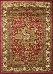 Traditional persian border area rug 5x8 oriental carpet for Traditional persian carpets