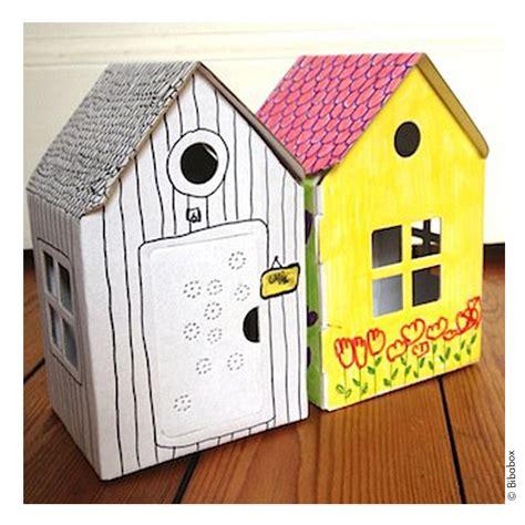 Kleines Haus Aus Pappe Zum Basteln Und Spielen Zambomba