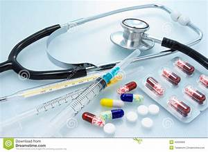 Medicines And Medical Apparatus. Stock Image - Image: 40005869